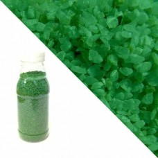 Зелёная кварцевая крошка RAL6037 (pure green)